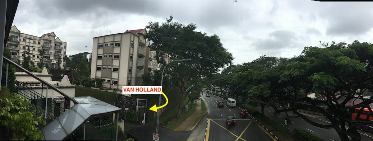 Van Holland, Holland Road, Van Holland Singapore, Koh Brothers
